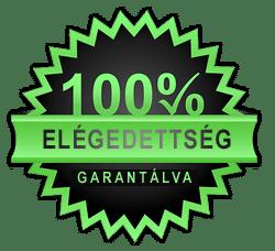 100% elégedett ügyfelek